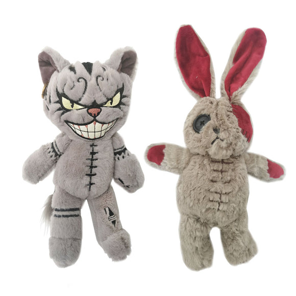 Kitten and Rabbit Plush Combo - Mysterious