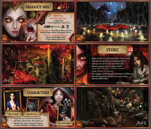 Alice: Asylum (License Proposal Booklet)