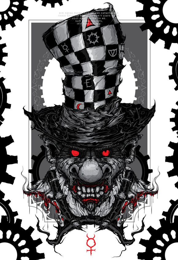 Chaos Hatter MINI (Art Print) - Mysterious