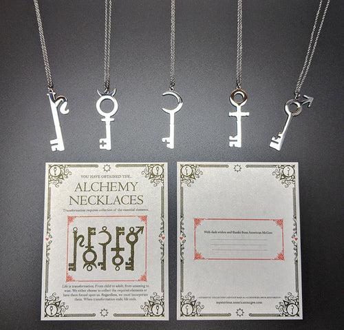 Alchemy Keys - Necklaces - 奥 Mysterious