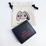 Angry Rabbit Hoodie and Wallet Set