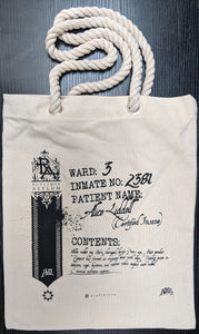 Rutledge Asylum Inmate Property Bag - 奥 Mysterious