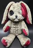 Plushie Dreadfuls -  Distressed White Rabbit Plush - Mysterious Shop