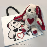 Love Rabbit Hoodie and Wallet Set - Mysterious