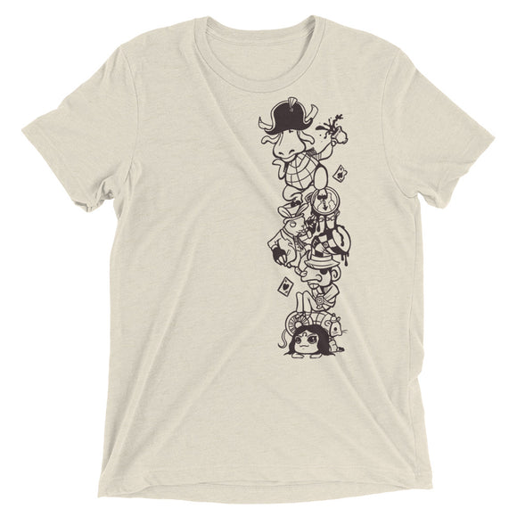 Short sleeve Tower of Friends t-shirt - 奥 Mysterious