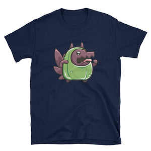 Unisex Pickle Wolf T-Shirt - 奥 Mysterious