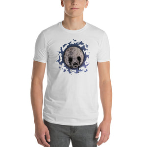 Short-Sleeve Ruin The Moon T-Shirt - 奥 Mysterious