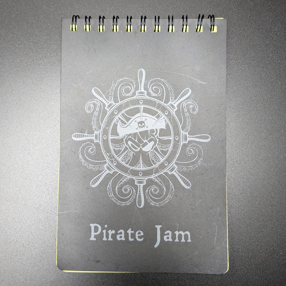 Pirate Jam Waterproof Notepad (x5) - 奥 Mysterious