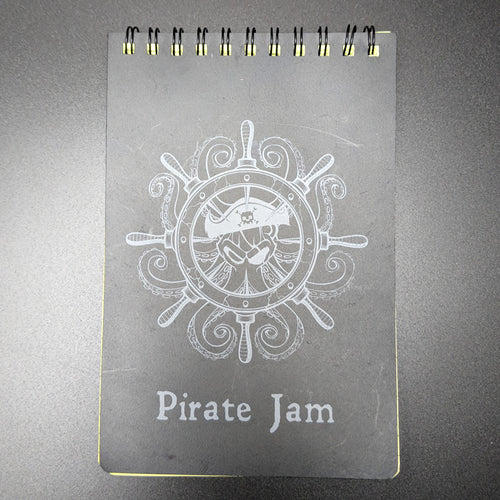 Pirate Jam Waterproof Notepad - 奥 Mysterious