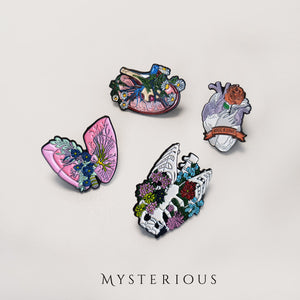 Floral Organ Pins - Mysterious