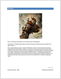 Alice: Madness Returns Game Design Document (book)