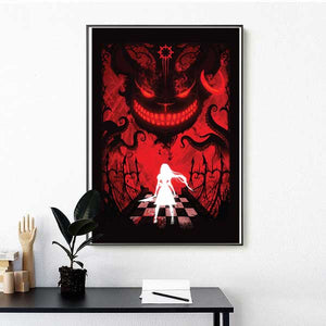 "Alice: Otherlands ""Red Cheshire"" (Art Print) - Mysterious Shop"