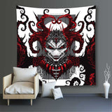 Silver Crown & Heart of Darkness Tapestry Set