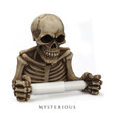 Skull Toilet Roll Holder - Mysterious Shop