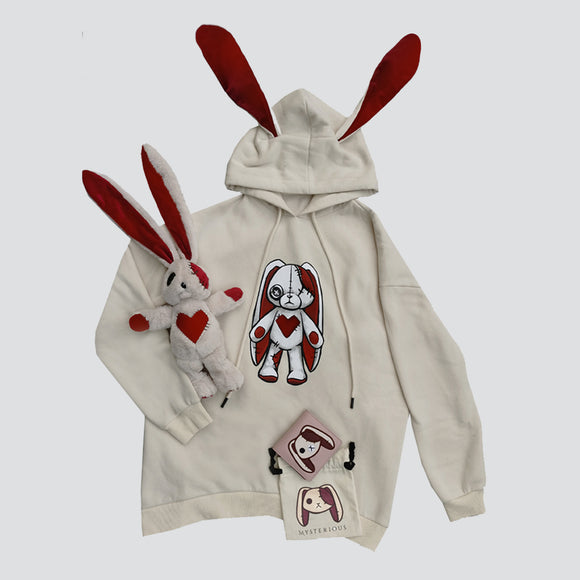 Love Rabbit Hoodie and Wallet Set - Mysterious Shop
