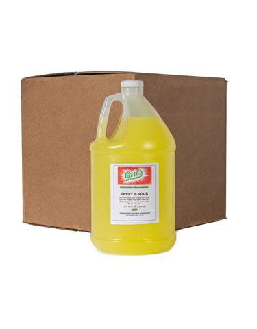 Carls Sweet & Sour 1GAL - By The Case