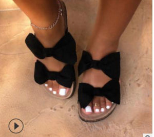 Double Bow Sandals