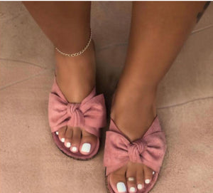Single Bow Sandals