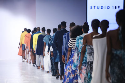 OUR SS17 RUNWAY DEBUT AT LAGOS FASHION AND DESIGN WEEK, NIGERIA