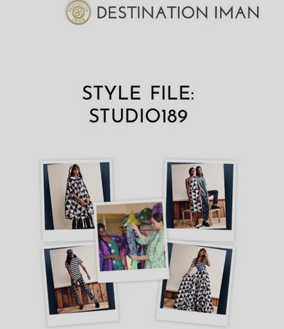 Destination Iman Interviews Studio 189's Cofounders