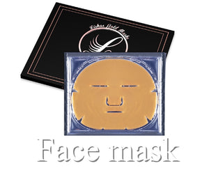 "3x 24 Karat Lisha Goldmasken ""Full Face"""