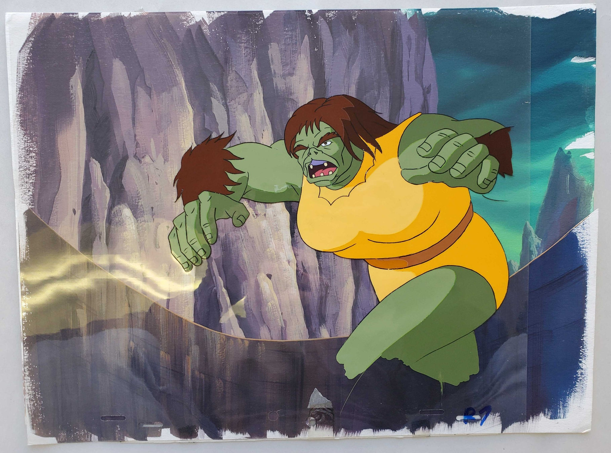 Hulk 22 Ogress (EX0477) - Animation Legends