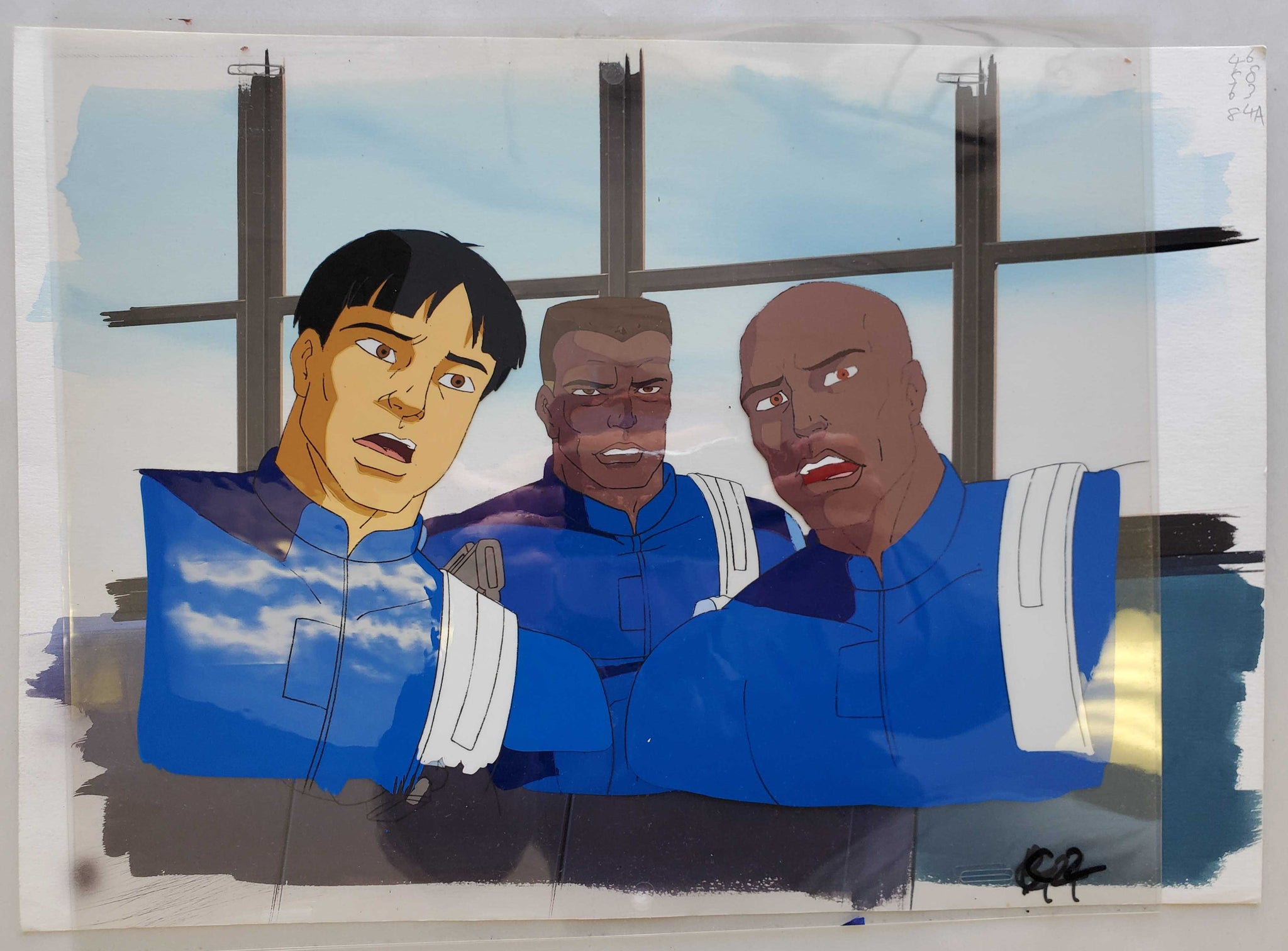 Hulk 13 Gabriel Jones and S.H.I.E.L.D. Members (EX0468) - Animation Legends