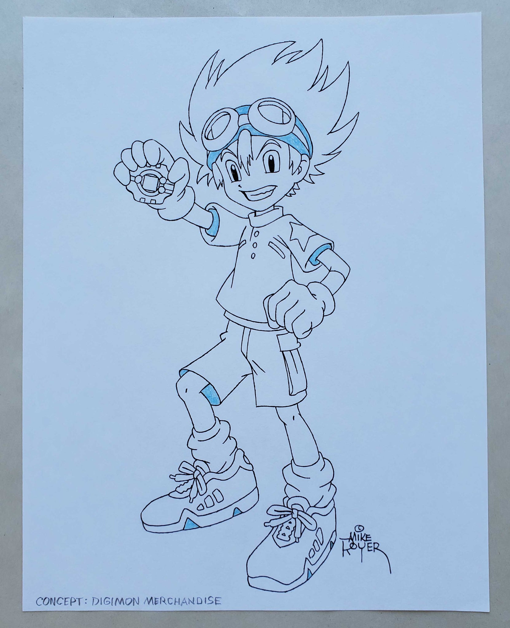Mike Royer Digimon Merchandise Concept (EX0452) - Animation Legends