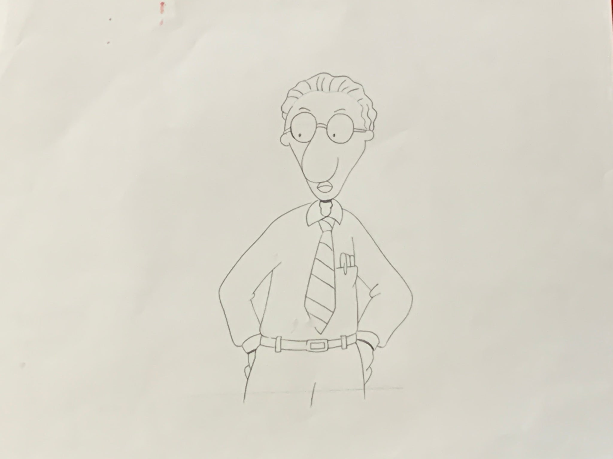 Doug: Lamar Bone Sketch EX0865 - Animation Legends