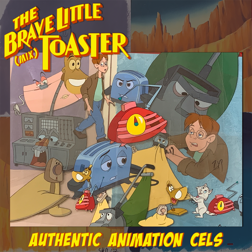 The Brave Little Toaster (Mix) - Animation Legends