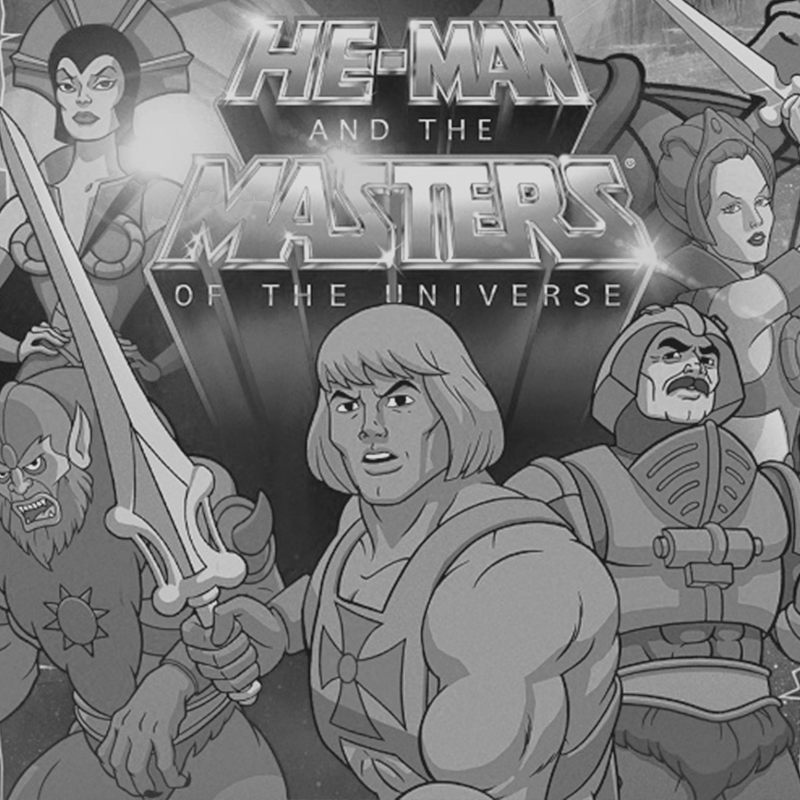 He-Man and the masters of the universe (Background Sketch Art)