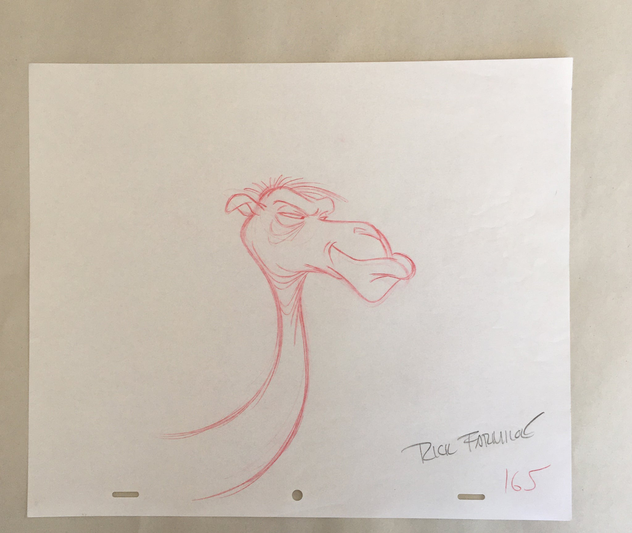 Prince of Egypt Concept Art: Camel (EX0087) - Animation Legends