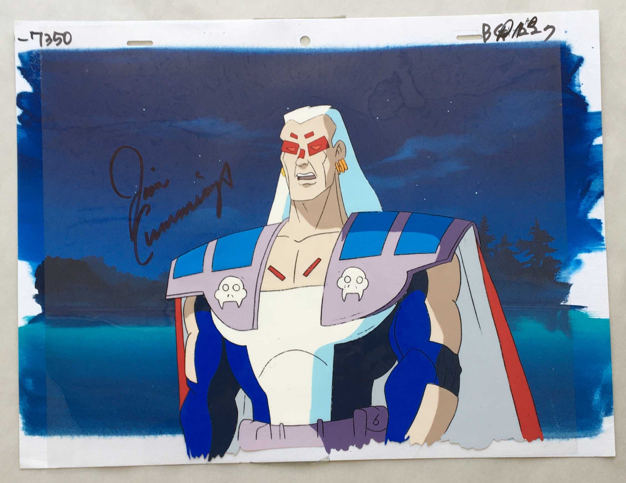 Century from Iron Man Signed By Jim Cummings (EX0362) - Animation Legends