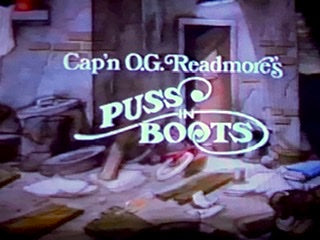 Cap'n O. G. Readmore's Puss in Boots - Animation Legends