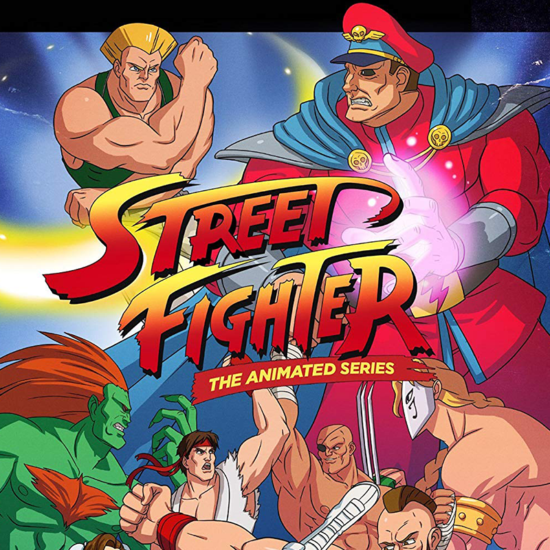 Street Fighter: The Animated Series - Animation Legends