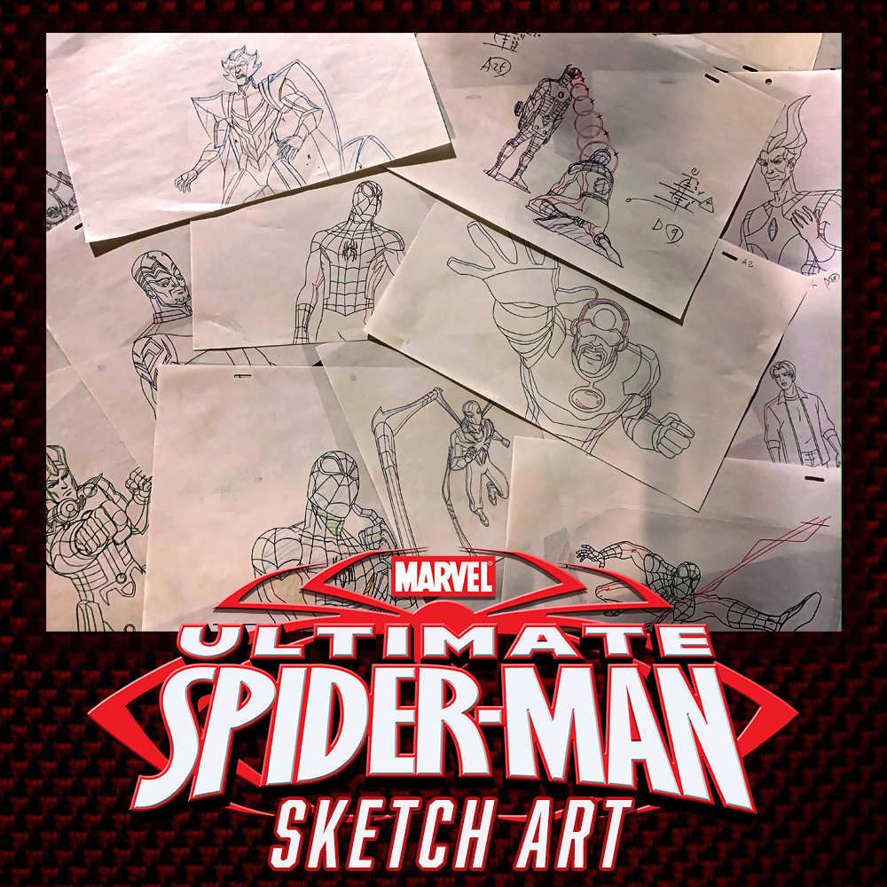 Marvel Ultimate Spider-Man - Animation Legends