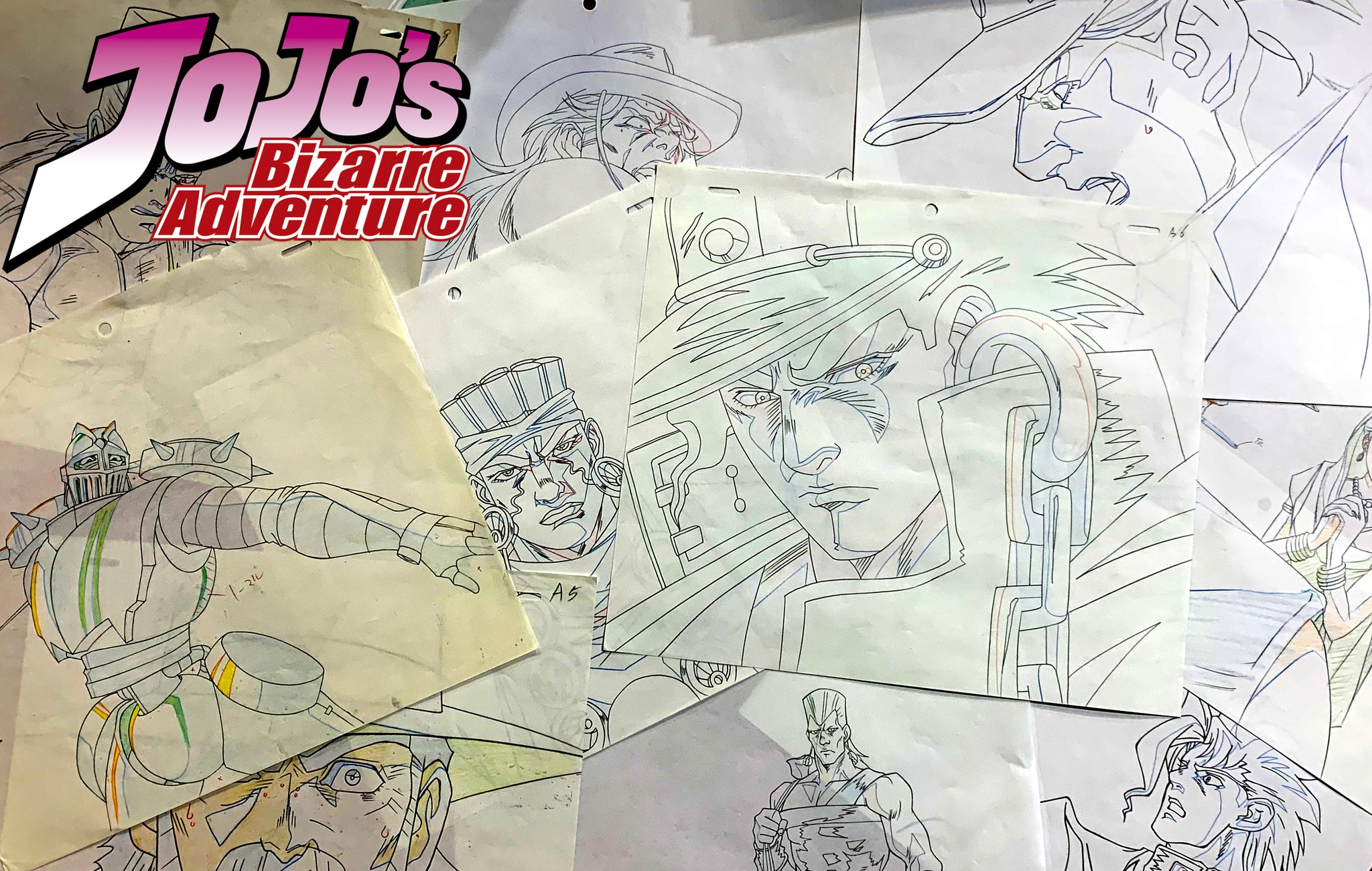 JoJo's Bizarre Adventure Sketch Art - Animation Legends