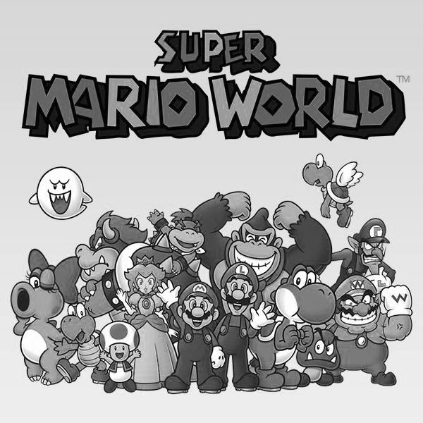 Super Mario World (Sketch Art) - Animation Legends