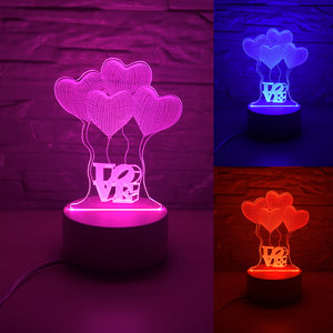 LAMP 3D WITH LUV®