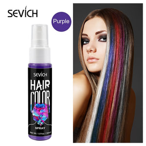 Temporary Spray Hair Dye