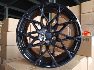 "19"" 795M G20 Sport Style Staggered Alloy Wheels Black New BMW 3 4 5 Series"