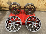 "18"" Aluwerks DTM wheels Gunmetal fits Audi BMW Mercedes VW Ford Vauxhall"