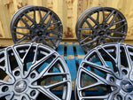 "20"" Aluwerks RTT wheels Gunmetal fits Audi BMW Mercedes VW Ford Vauxhall high load"