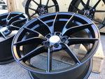 "19"" 763M M4 CS Style Staggered Alloy Wheels Satin Black BMW 3 4 5 6 Series"