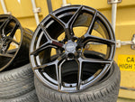 "19"" Aluwerks XT2 wheels Black fits Audi BMW Mercedes VW Ford Vauxhall"