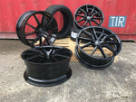 "20"" Aluwerks Spyder wheels Gloss Black fits Audi BMW Mercedes VW Ford Vauxhall"