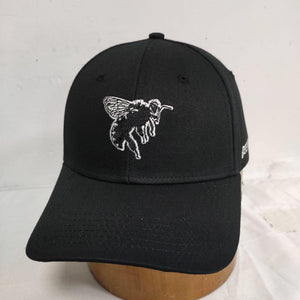 The Bee Project Baseball Cap White Embroidery