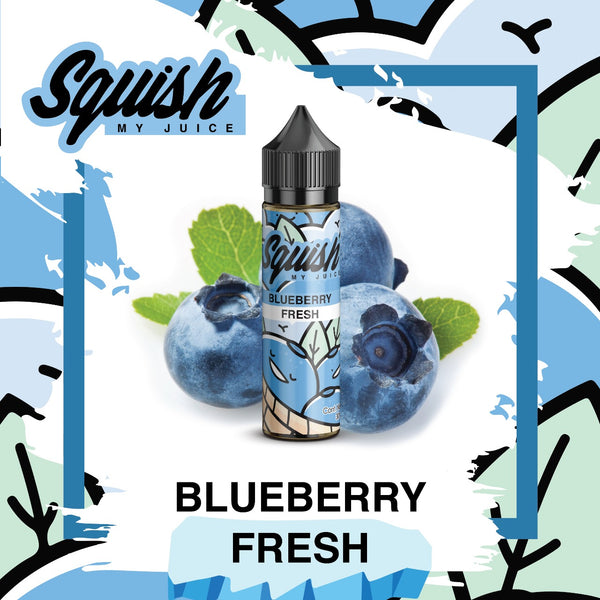 Blueberry Fresh (Low Mint)