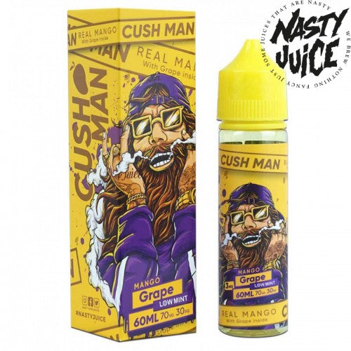 NASTY JUICE - CUSH MAN MANGO GRAPE