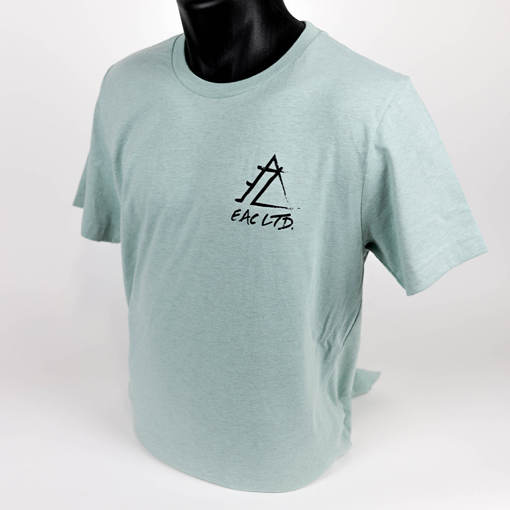The Prizm Tee | EAC LTD. - Prism Heather Blue
